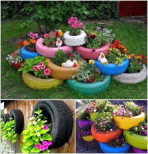 creative recycling ideas for your garden ~ arts crafts ideas movement