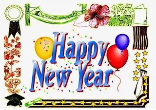 DP Gambar Ucapan Tahun Baru 2016 Kartun Lucu Happy New Year Tahun 2016