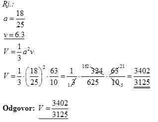Riješeni zadaci iz matematike za državnu maturu - osnovna razina, Instrukcije, poduke, repeticije, matematika, kemija, fizika, drugi predmeti, državna matura, upis na medicinski fakultet, klasično ili putem Skypea, sve škole i fakulteti, 095 812 7777