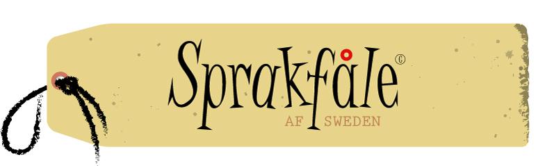 Sprakfåle af Sweden