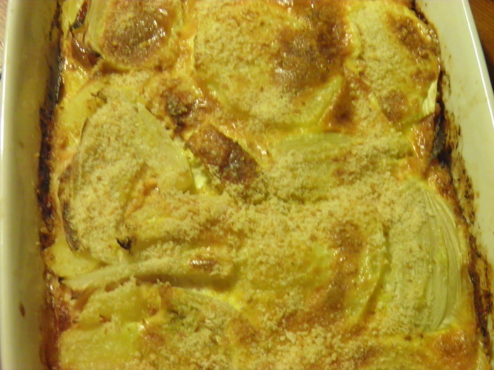 Le ricette di Mamma Carla: Torta di finocchi e prosciutto