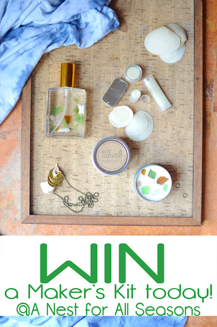 SeaGlass DIY Perfume Win FREE Makers Kit from A Nest for All Seasons