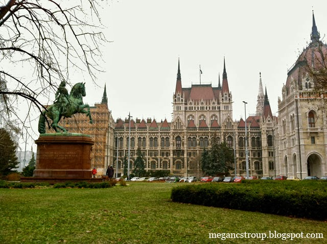 Budapest parliament building on Semi-Charmed Kind of Life