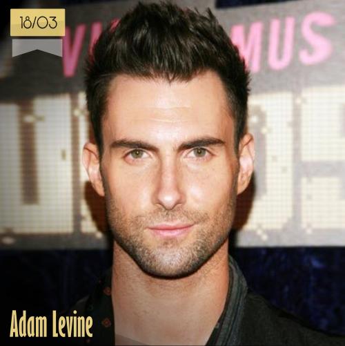 18 de marzo | Adam Levine - @adamlevine | Info + vídeos