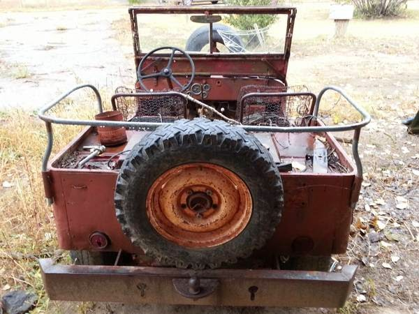 Restoration Project Cars 1945 Jeep Willys Cj2a Project