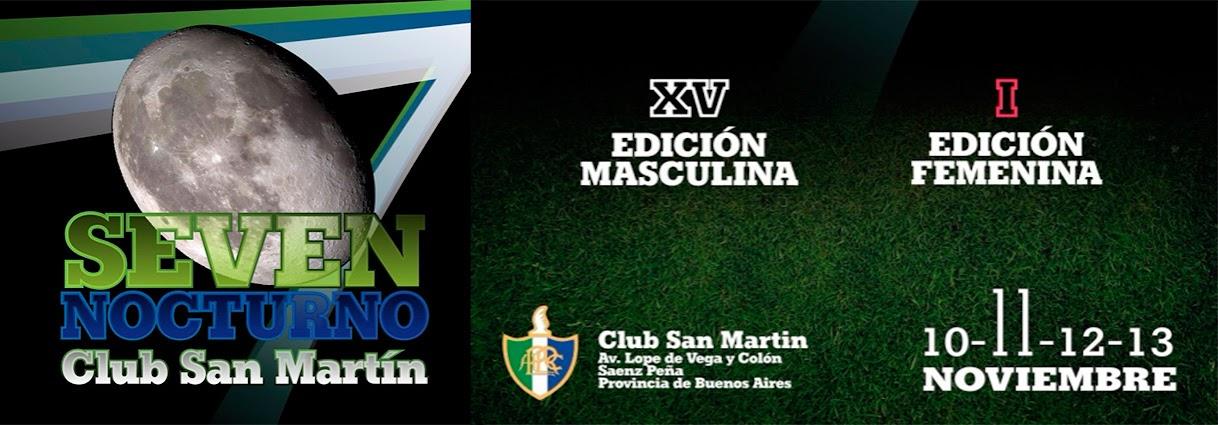 XV SEVEN NOCTURNO CLUB SAN MARTIN