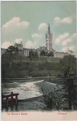 Vintage postcard Glasgow