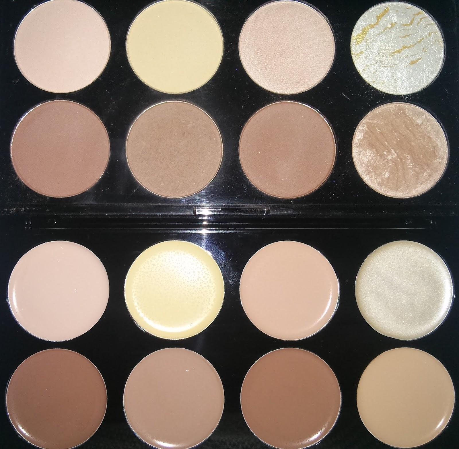 Review | Makeup Revolution Ultra Cream Contour Palette - Every ...