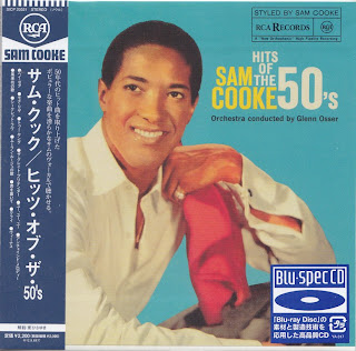 SAM COOKE - HITS OF THE 50\'s (RCA VICTOR 1960) Jap Blu-Spec cd cardboard sleeve