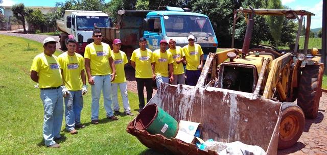 Iretama: Saúde realiza arrastão de combate à dengue