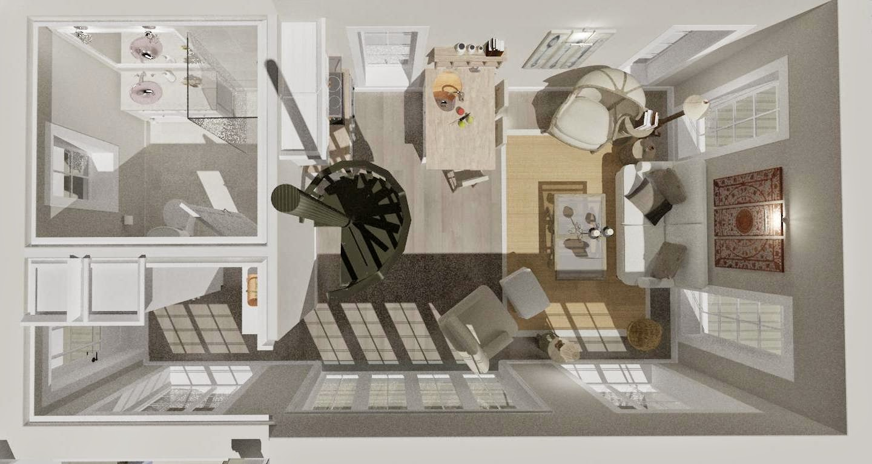 Den vita drömgården: gästhus eller fritidshus på 40 kvadrat i new ...