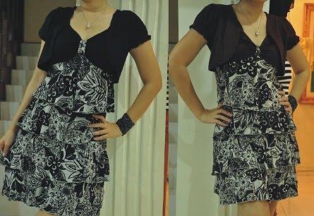 dress Ruffles lycra