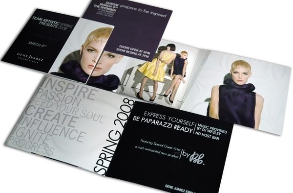20 Stylish Examples Of Salon Brochure Designs - Jayce-O-Yesta