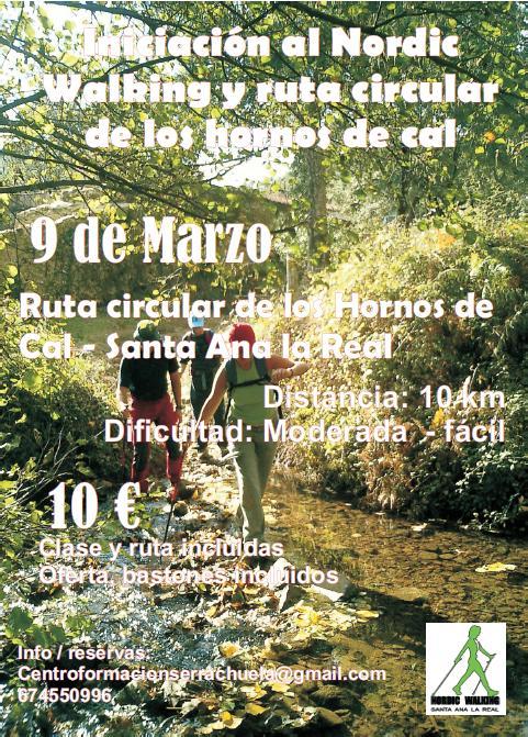 CURSO INICIACIÓN NORDIC WALKING 9 DE MARZO 2013