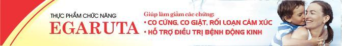 TPCN EGARUTA - Giải pháp mới cho bệnh động kinh