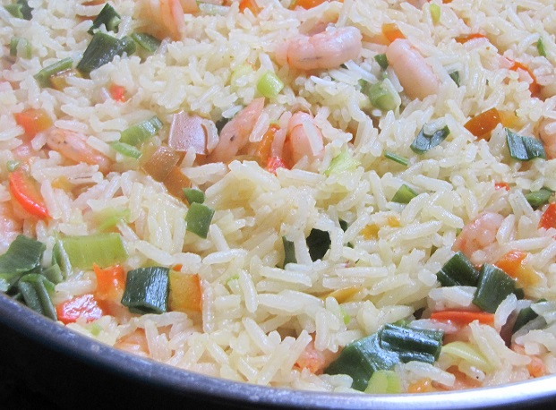Alimentaci n saludable arroz con acamarones - Almuerzos faciles y rapidos ...