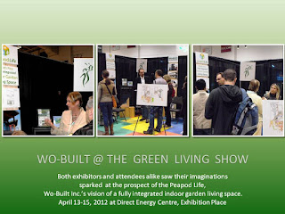 Wo-Built at the Green Living Show 2012, Peapod Life - an affordable sustainable home addition, photos: Olga Goubar @ wobuilt.com