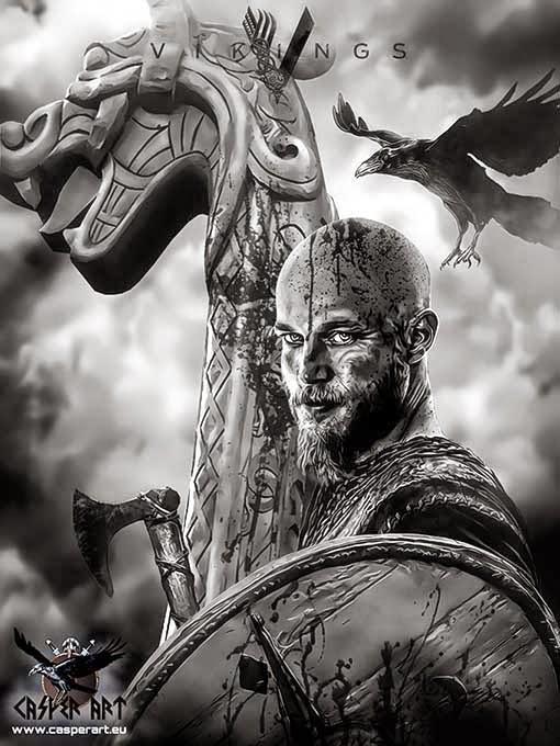 Vikings series ragnar