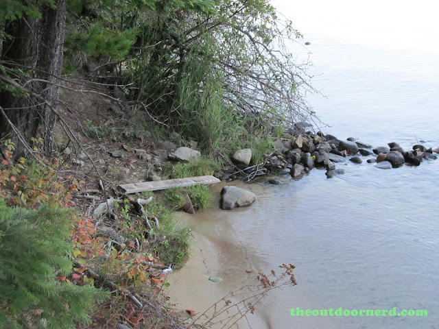 Outlet Campgrounds At Priest Lake, Idaho: Beach Area 1