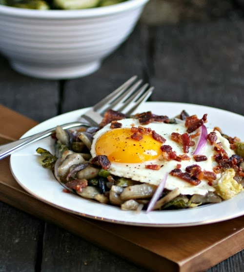 Sunchoke Hash with Bacon