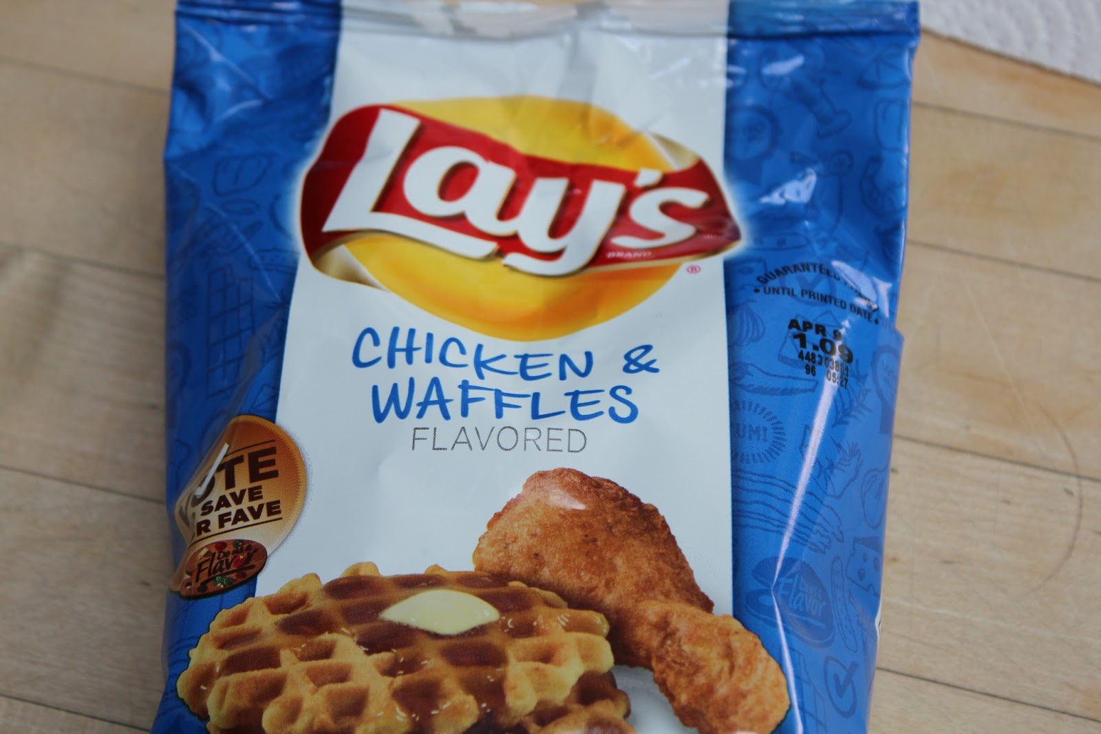 Fried Chicken And Waffles Chips Chicken & waffles chips