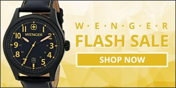 Shop Jacob Time's Flash Sale on Wenger Watches