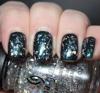 china glaze cheers holiday review swatches break the ice dont get elfed up