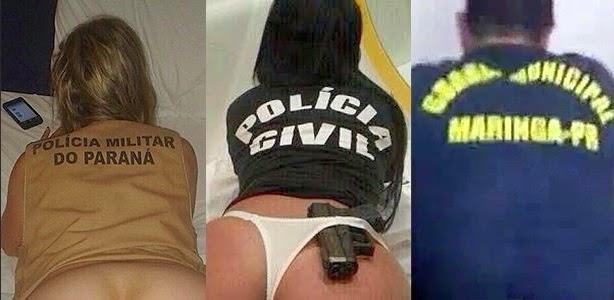 Policia investiga fotos de nudez vestindo uniforme da corporação