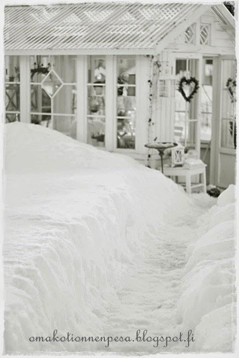 talvinen kesähuone