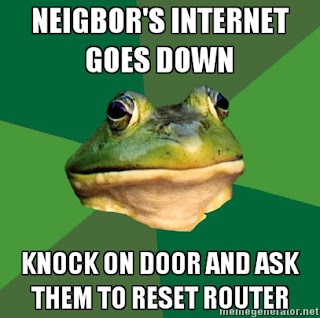 foul bachelor frog neighbor