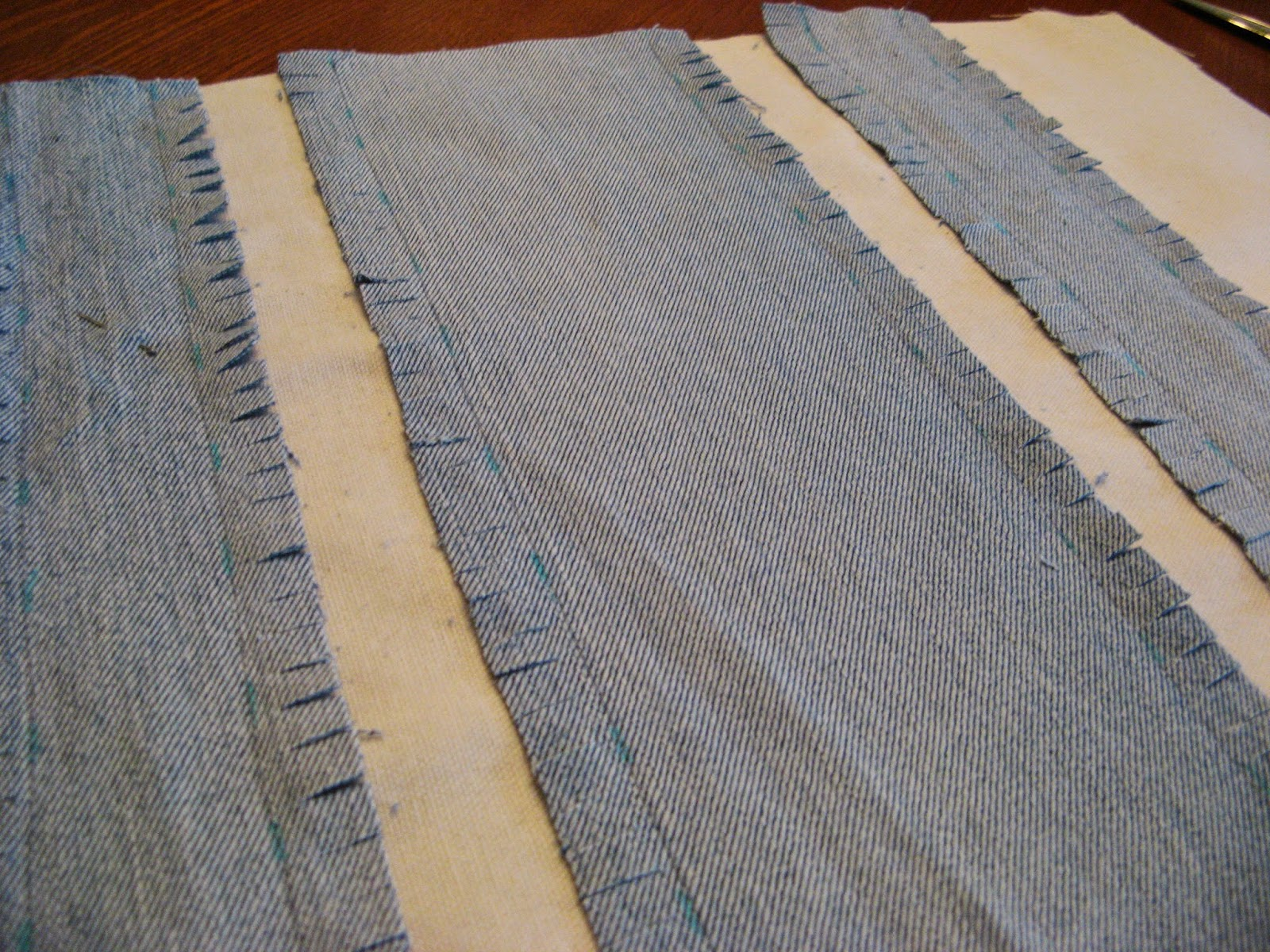 Denim Rag Pillow - Step 3