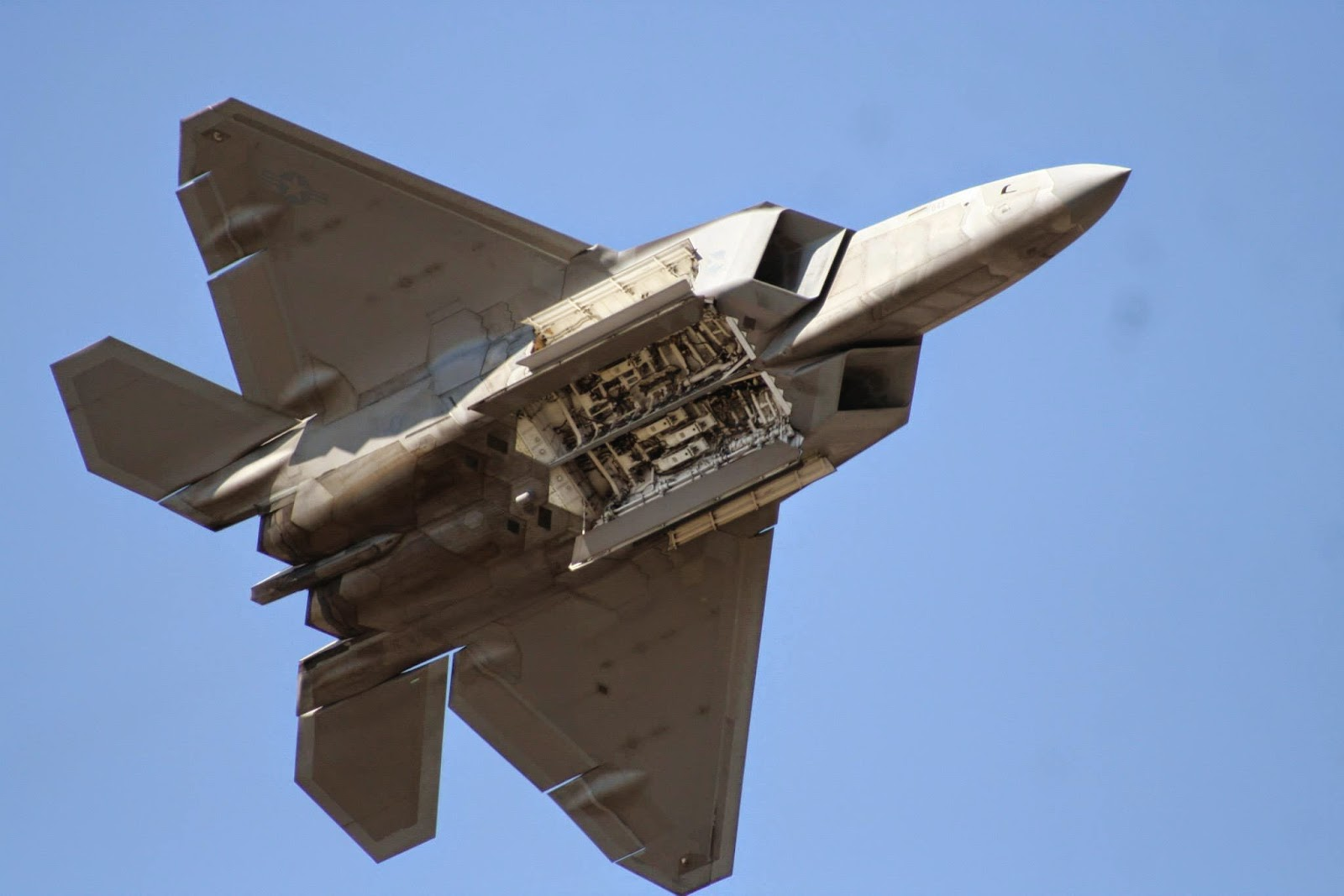 F-22 Raptor demonstration