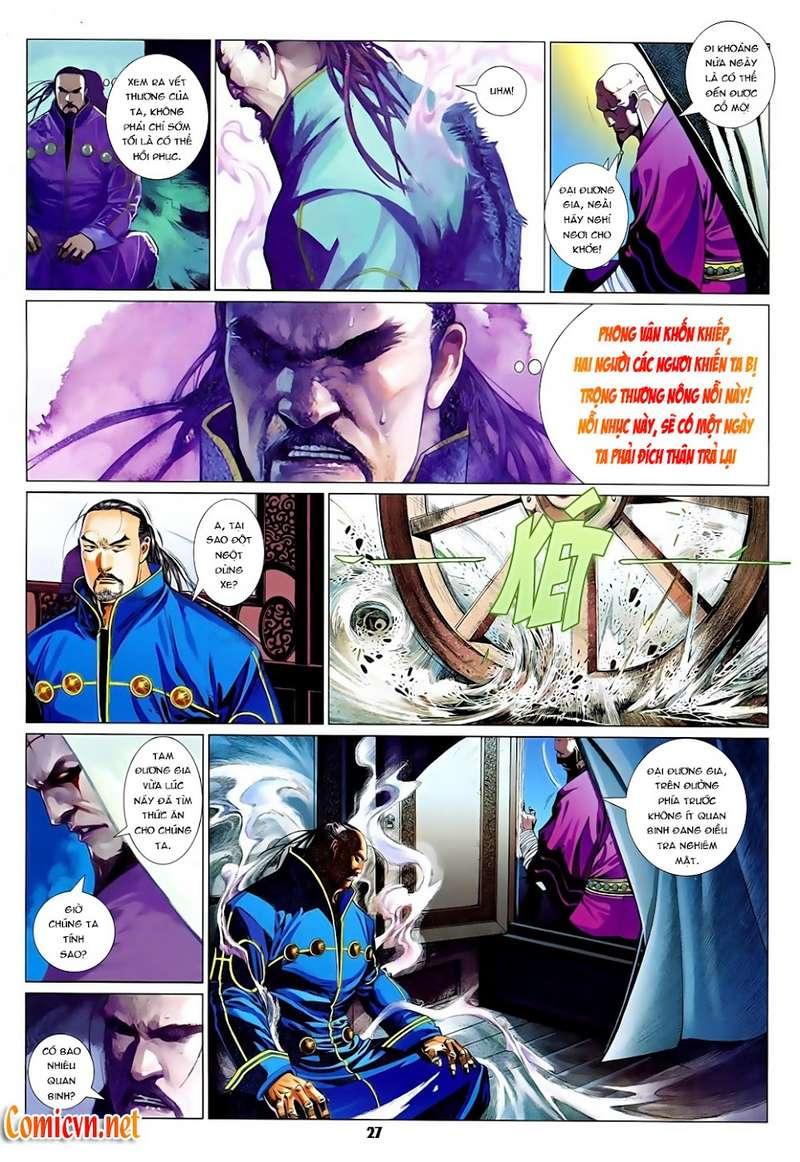 Phong Vân chap 629 Trang 27 - Mangak.info