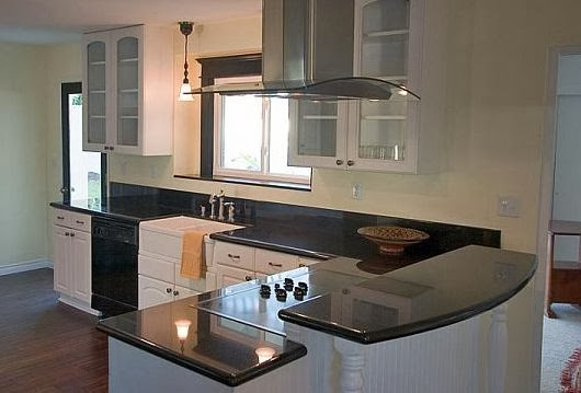 L Shaped Kitchen Remodel