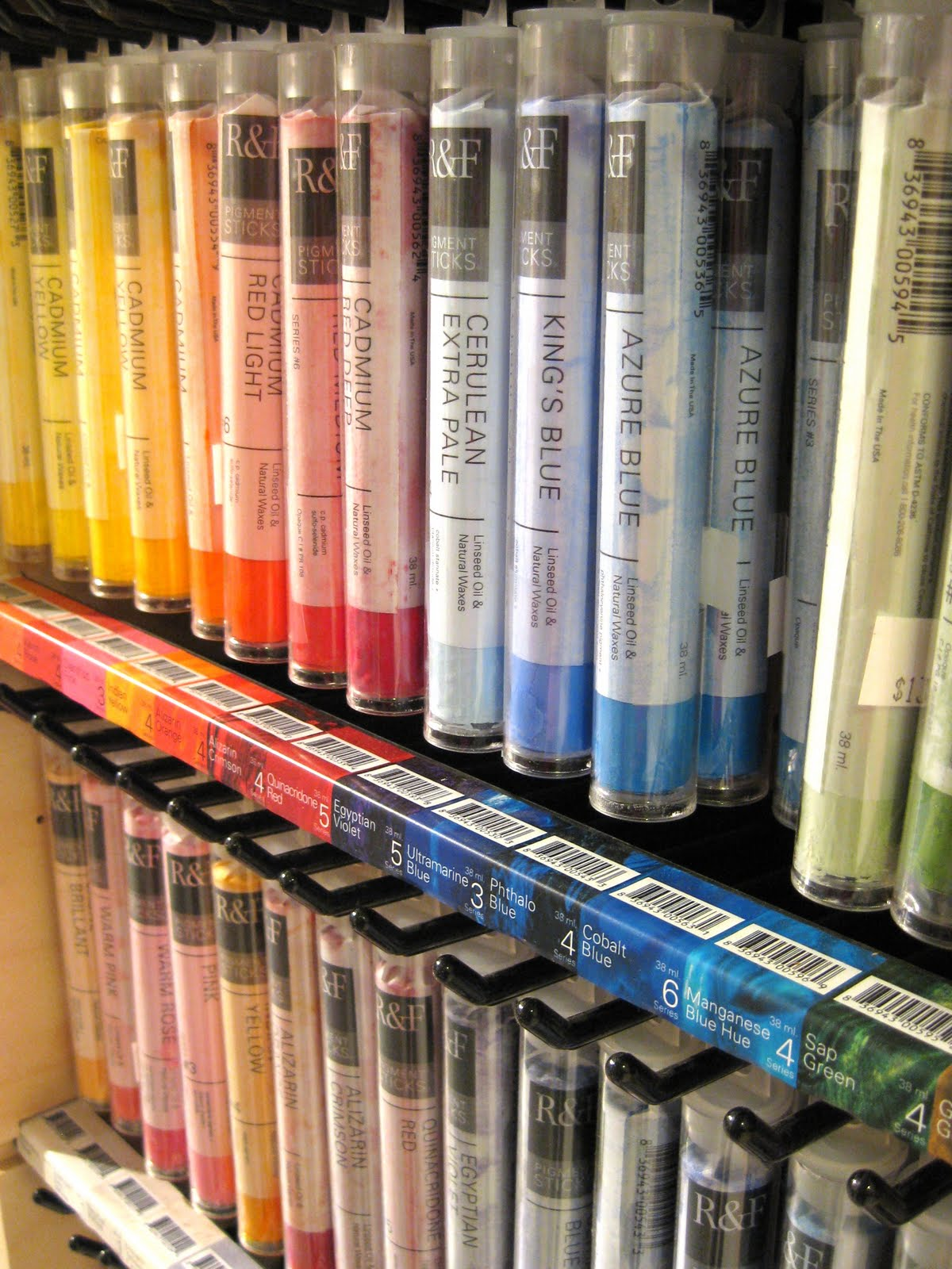 albright art supply  new in the shop  encaustic paints  u0026 pigment oil sticks