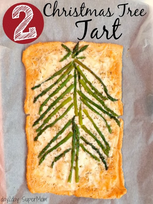 Christmas Tree Tart ~ 12 SuperMom Days of Christmas