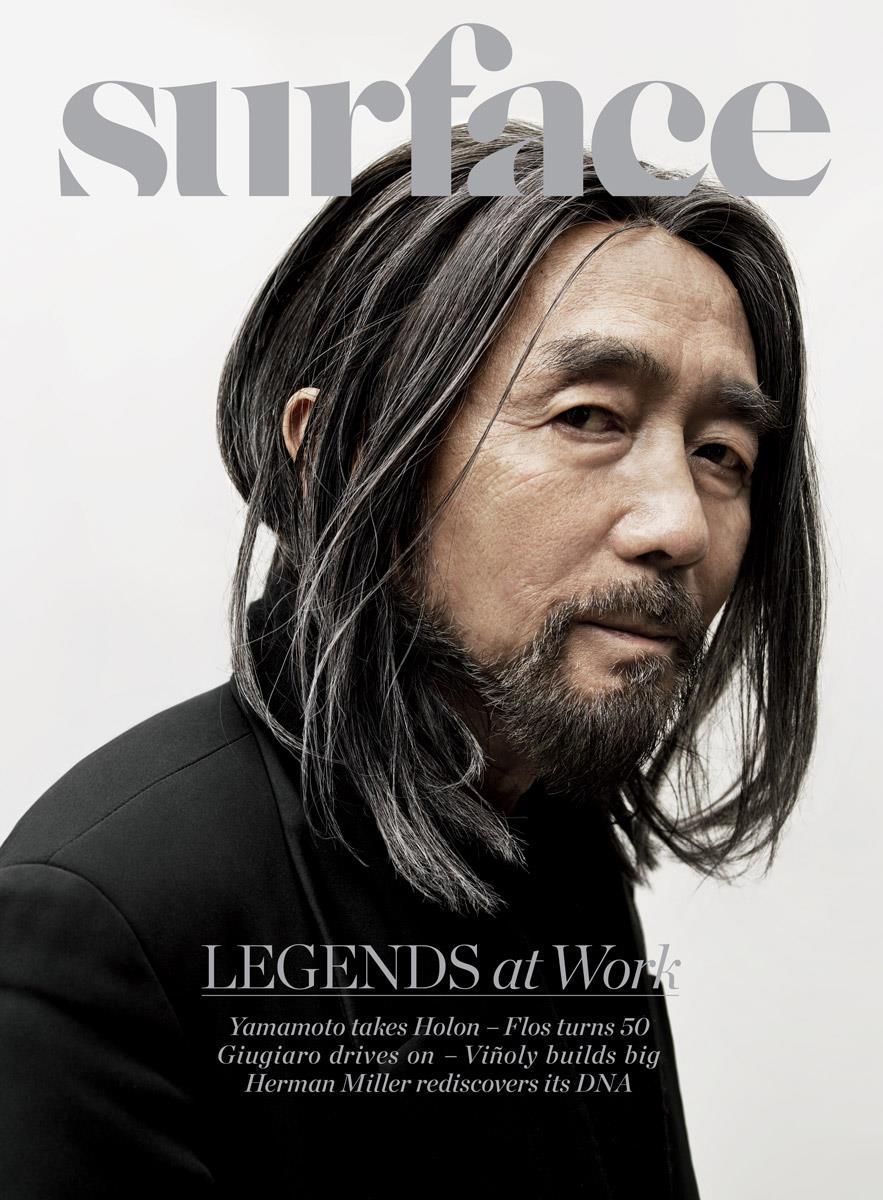 Surface Magazine May/June 2012: Yohji Yamamoto