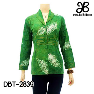 Blouse Batik Wanita DBT-2839