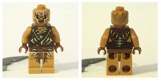 LEGO orc minifigure