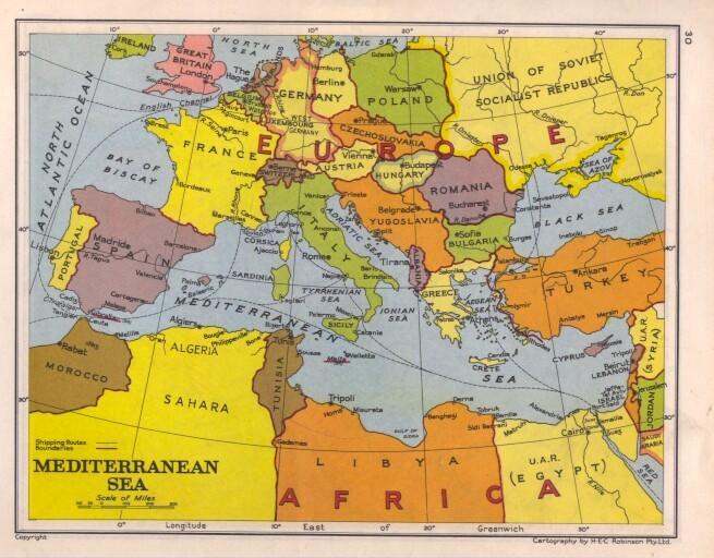 Worksheet. Mediterranean Sea Map  Free Printable Maps