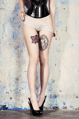 Leg Piece Tattoos For Women