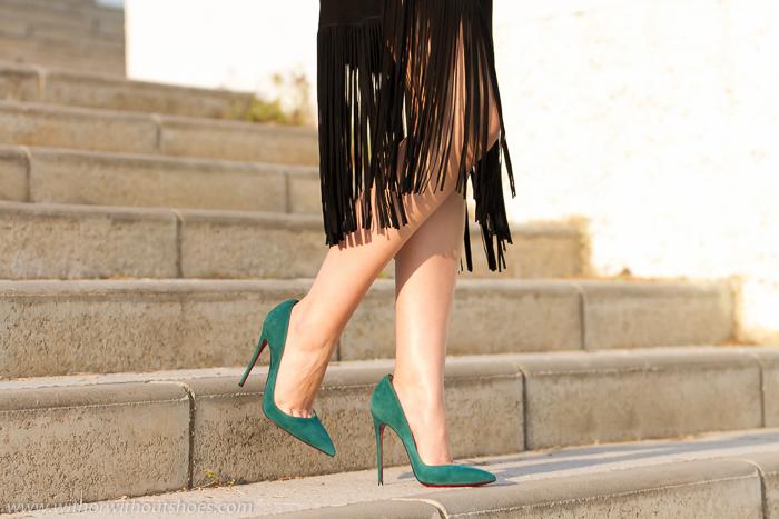 Blogger adicta a los zapatos Christian Louboutin