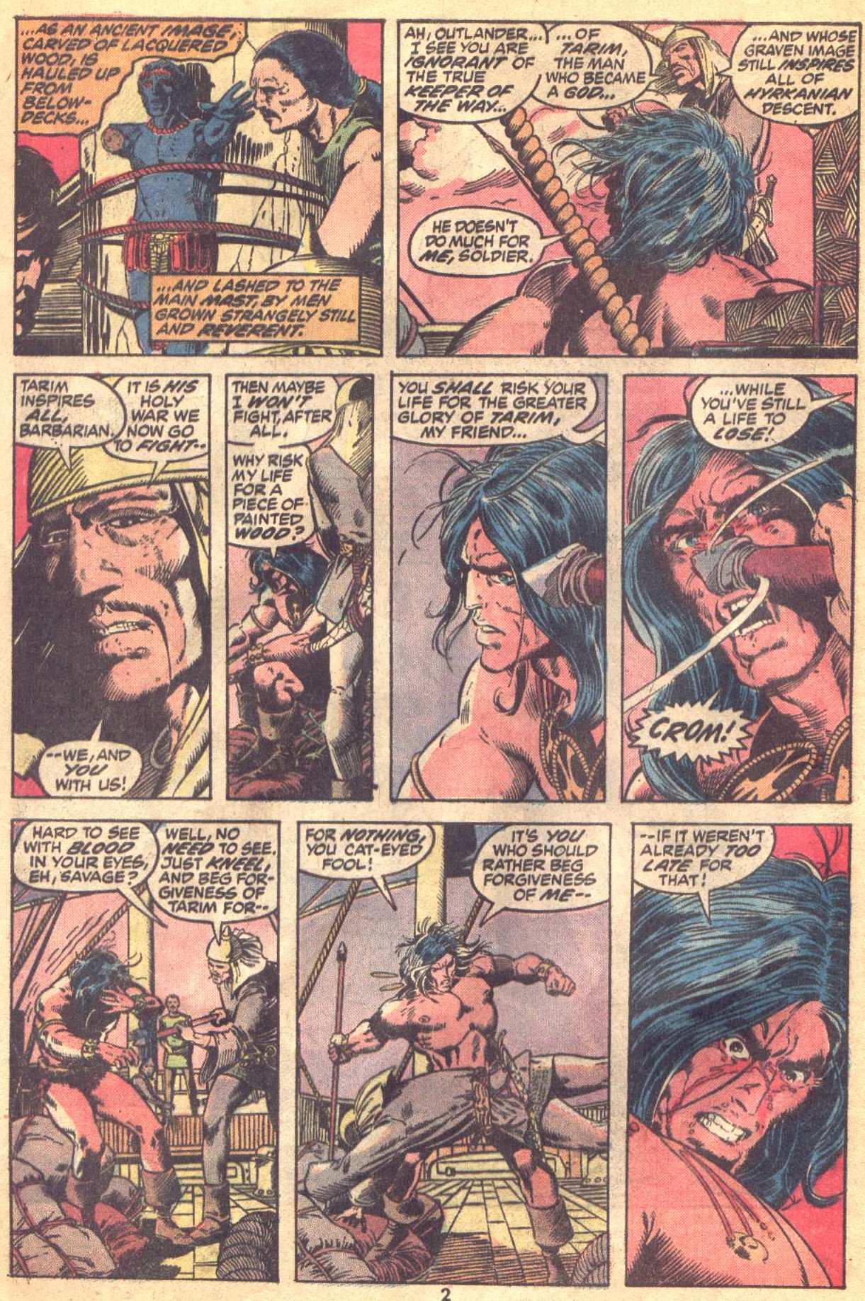 Conan the Barbarian (1970) Issue #19 #31 - English 3