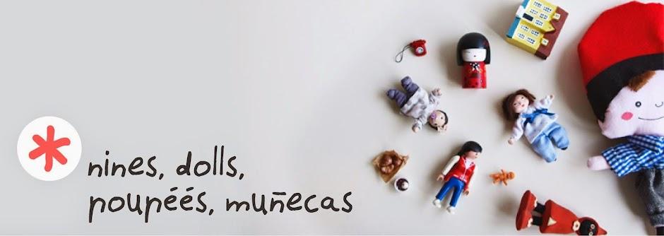 nines, dolls, poupée, muñecas