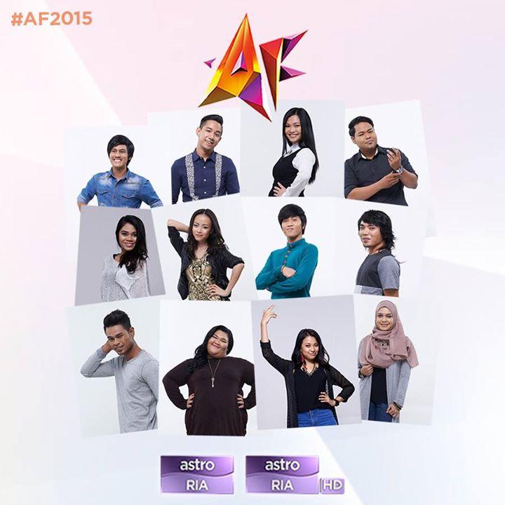 12 Peserta AF2015