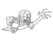 #7 Zombie Coloring Page