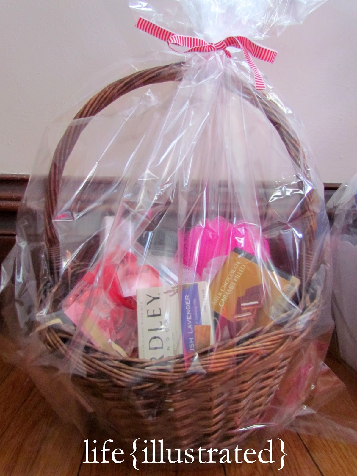 Life Illustrated Valentine Gift Basket Ideas