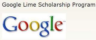 Google Lime Scholarship 2013-2014 Program