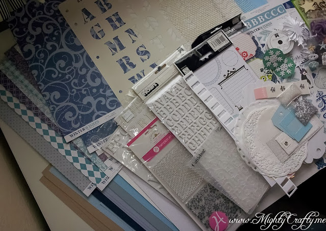 Creating My Own Kit: January 2014 -- www.MightyCrafty.me