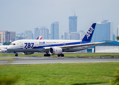 All Nippon Airways Upgrades Manila Flights to Boeing 787 and 777